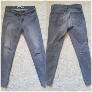 J BRAND gray skinny petite/cropped capri jeans 26